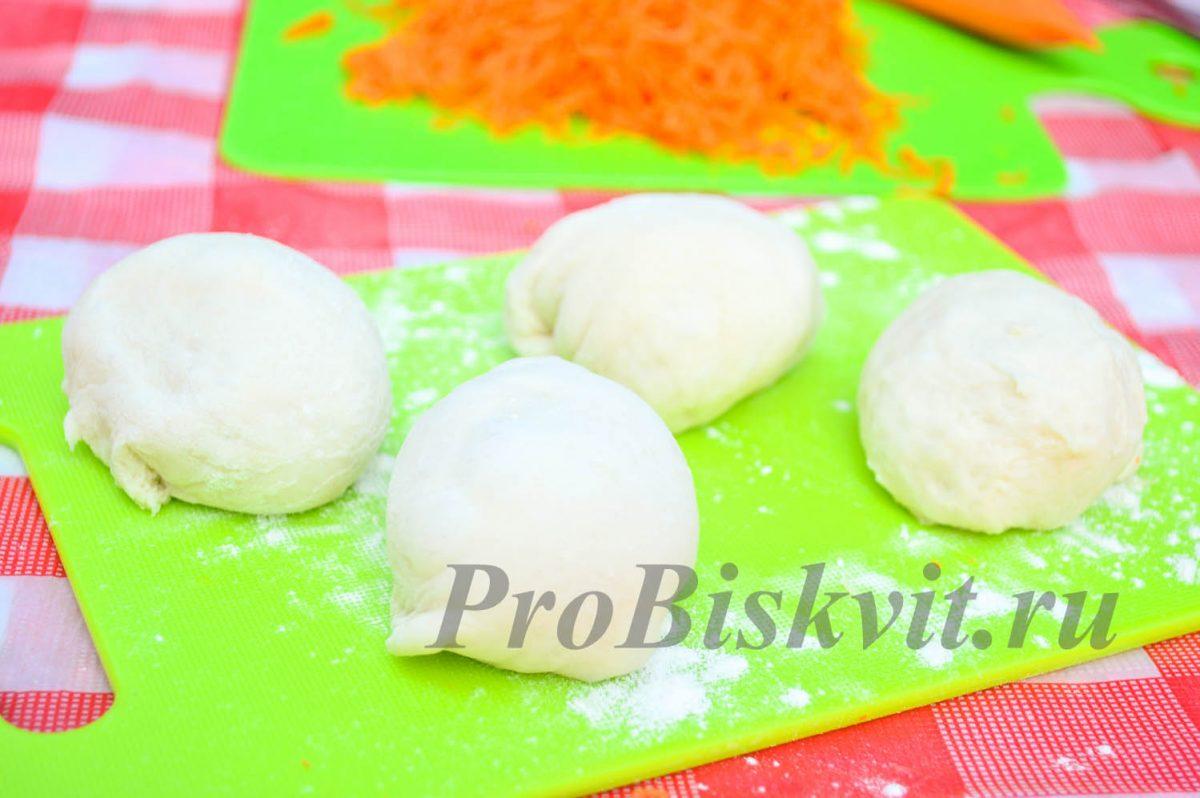 рецепт сладких пирожков с морковкой