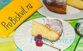 творожный кекс самый вкусный рецепт с фото