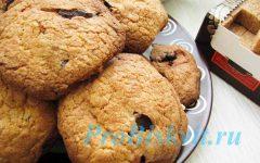 печенье с шоколадными крошками рецепт