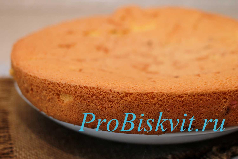 Рецепт бисквита в домашних условиях в мультиварке