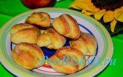 творожное печенье поцелуйчики с творогом рецепт