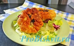 Пышные беляши на дрожжах на сковороде пошаговый рецепт с фото