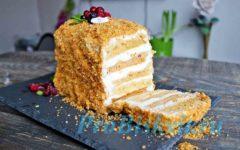 Самый простой торт Медовик