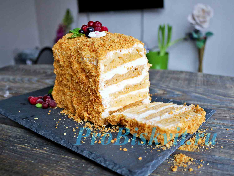 Как приготовить вкусные торты в домашних условиях рецепты