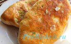 жареные воздушные пирожки с картошкой