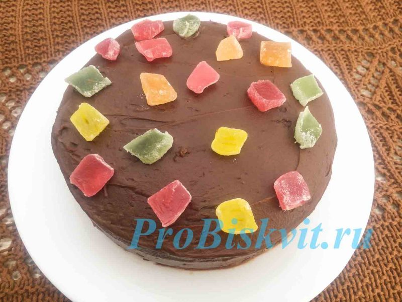 Приготовление быстрого торта с фото